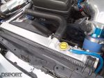 Fluidyne radiator in the Twin-Turbo 2JZ Lexus GS400 Daily Driver