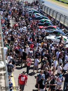 The crowd at the 2016 World Time Attack Challenge