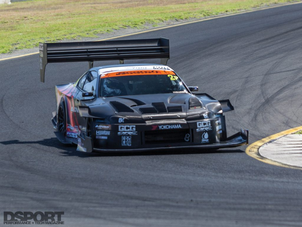 The aero on the Scorch Racing S15