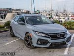 2017 Honda Civic by the harbor