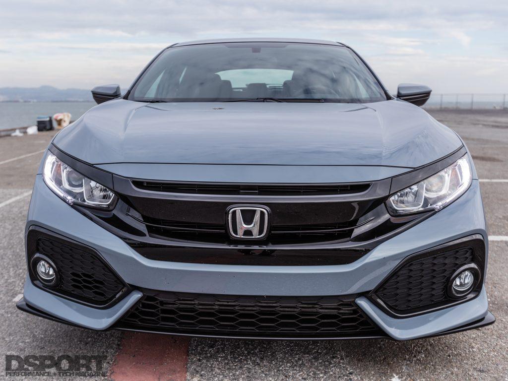 2017 Honda Civic front