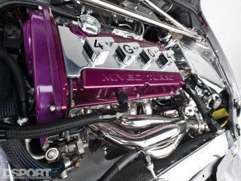 4G64 Mivec for the Insane Speed 4G64 EVO IV