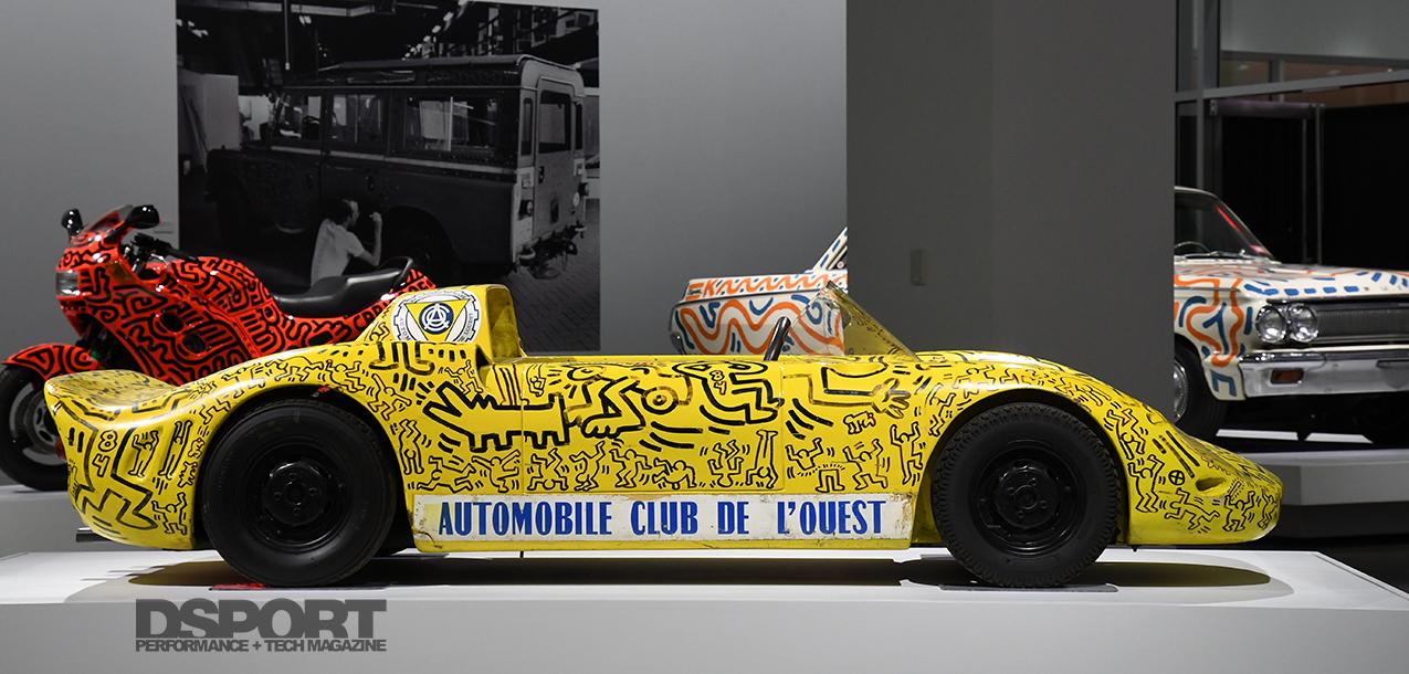 Keith Haring Exhibit at the Pertersen Automotive Museum