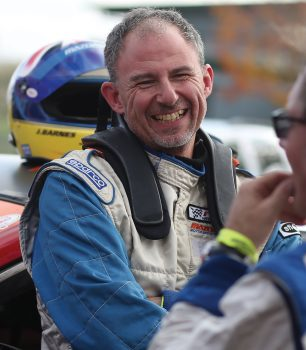 Jeremy Barnes at the 25 hours ofThunderhill