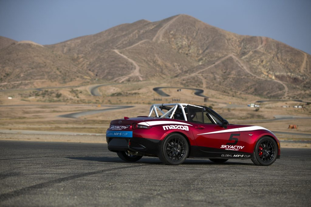 Global Mazda MX-5 Cup rear