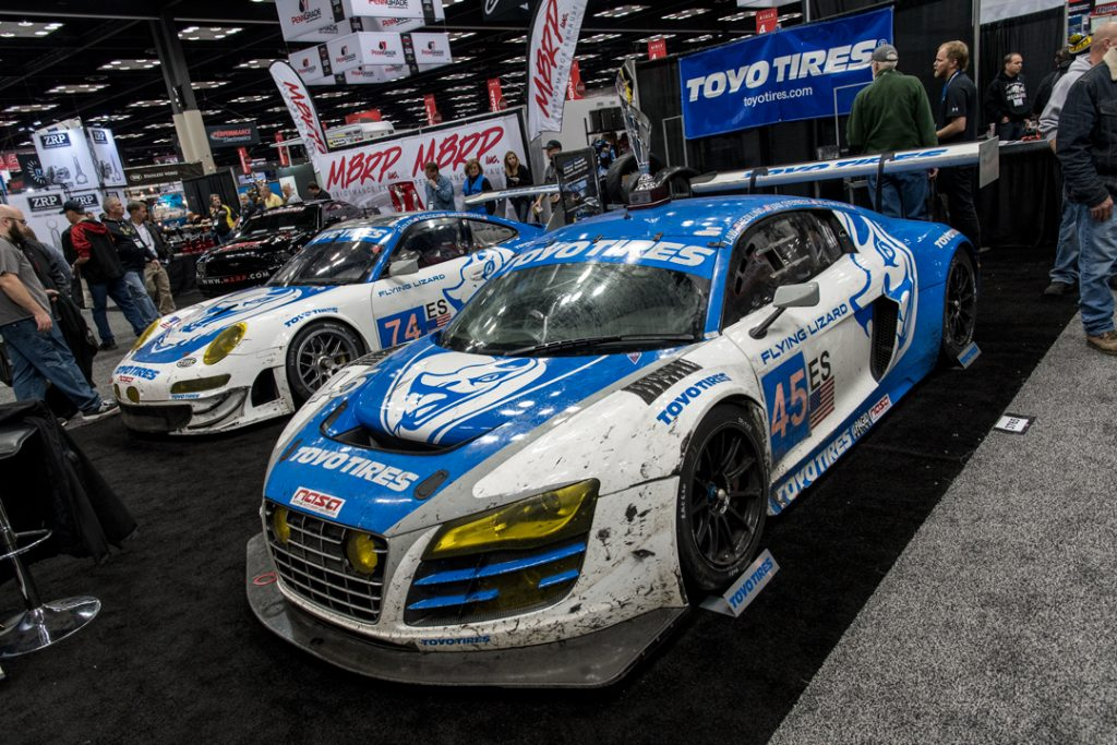 Nikon D500 - Flying Lizard Audi R8 LMS at PRI