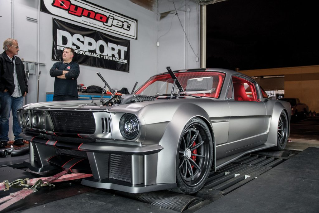 Nikon D500 - Vicious Mustang on DSPORT Dyno