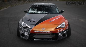 Front of Aasbo's drifting GT86