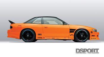Mishimoto S13 Side Profile