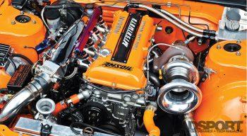 Mishimoto S13 Engine Bay SR20