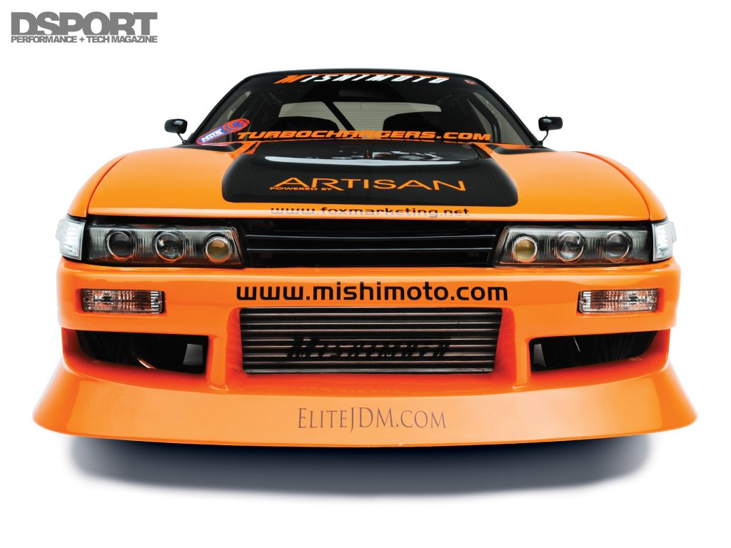 Mishimoto S13 Front
