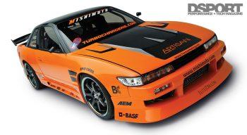 Mishimoto S13 Front Side