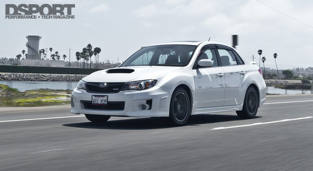 Test & Tune 2011 WRX Rolling Shot