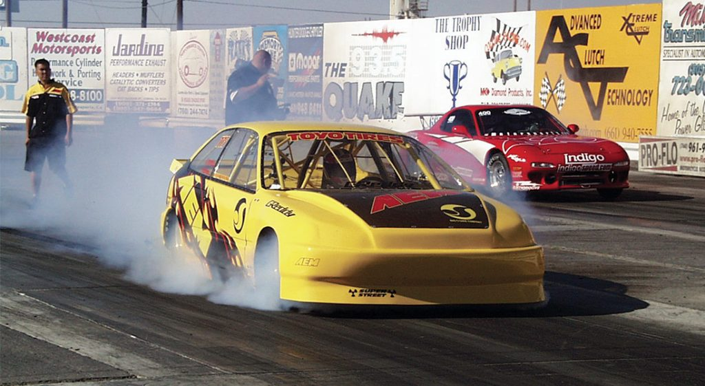 Stephan Papadakis Drag Racing