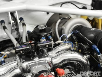 Precision turbo in the Gobstopper II from Roger Clark Motorsports