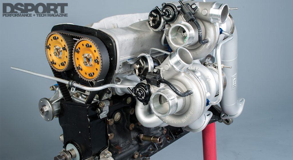 Toshi R34 RB26 Engine
