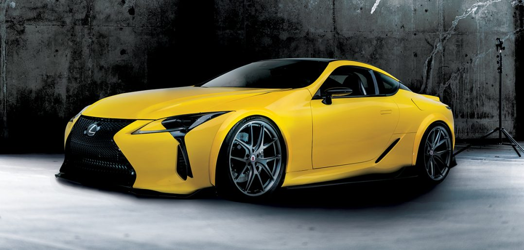 Lexus LC 500 concept the LC 560