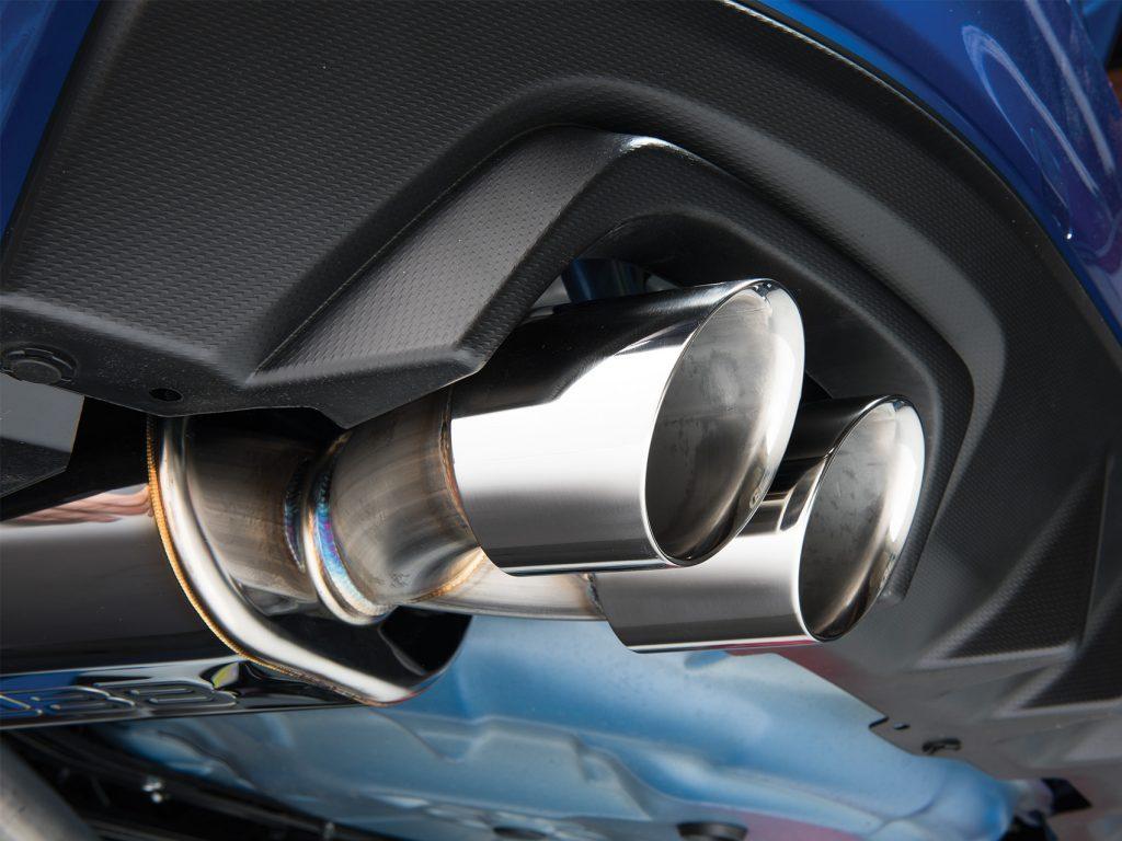 Cobb Exhaust Showcase Installed