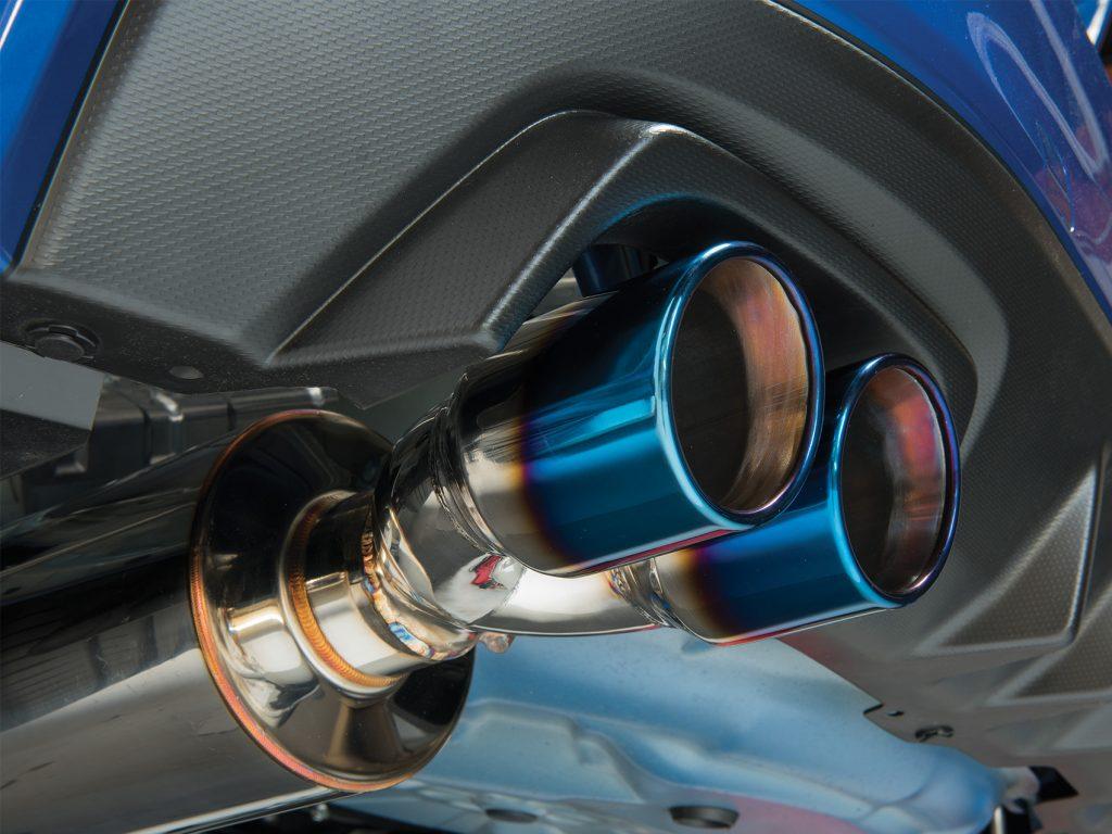 ETS Exhaust Showcase Installed