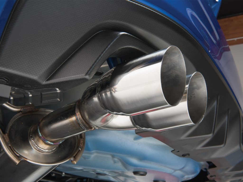STI SubiSpeed Exhaust