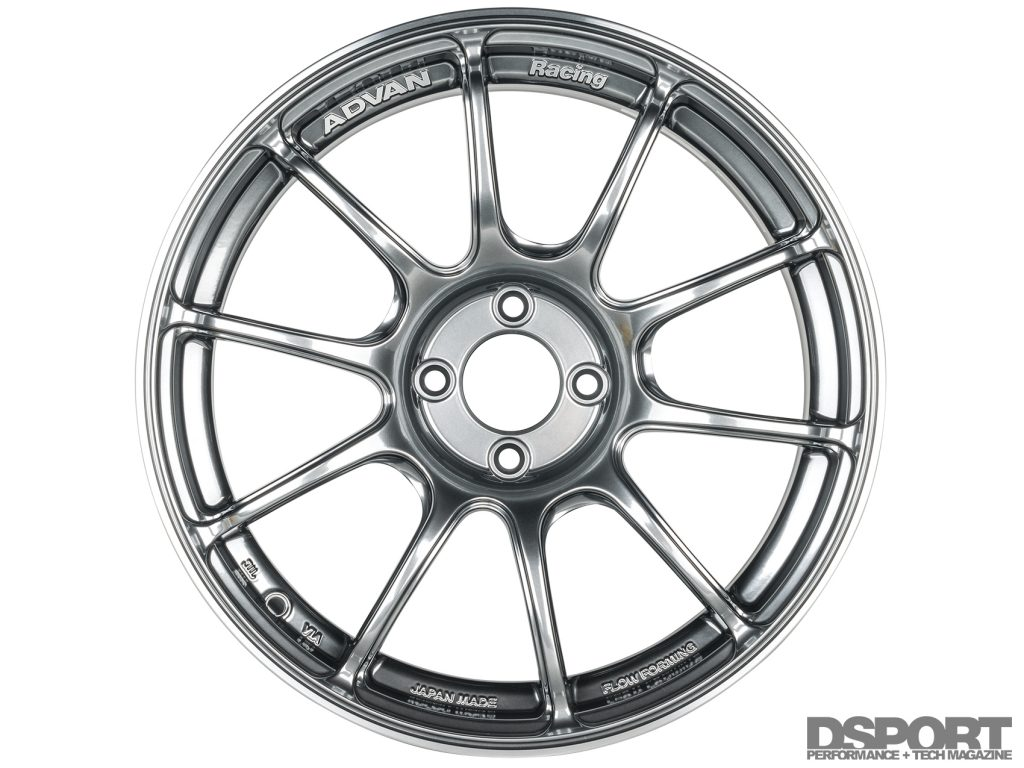 Yokohama Advan RZII wheels for Project MX-5 Miata