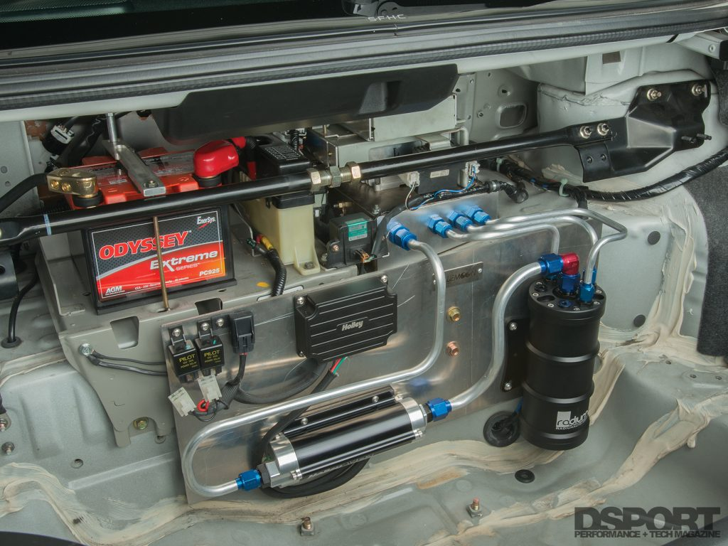 DSPORT Project R34 fuel injection system