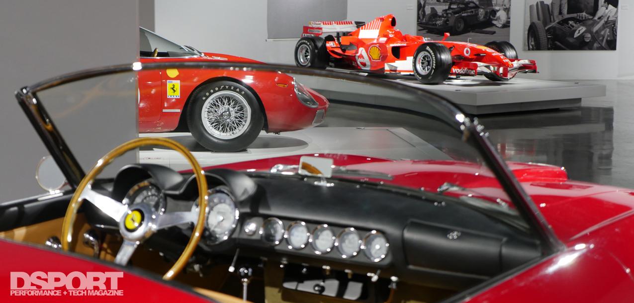 Seeing Red Exhibit at Petersen Automotive Museum