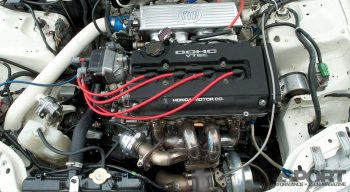 Hypersports Civic Engine Bay