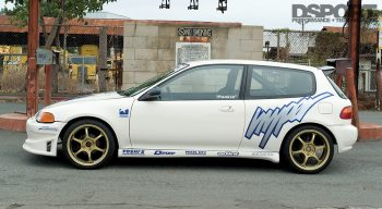 Hypersports Civic Side Profile