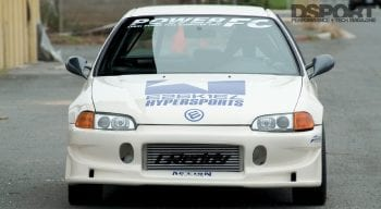 Hypersports Civic Front