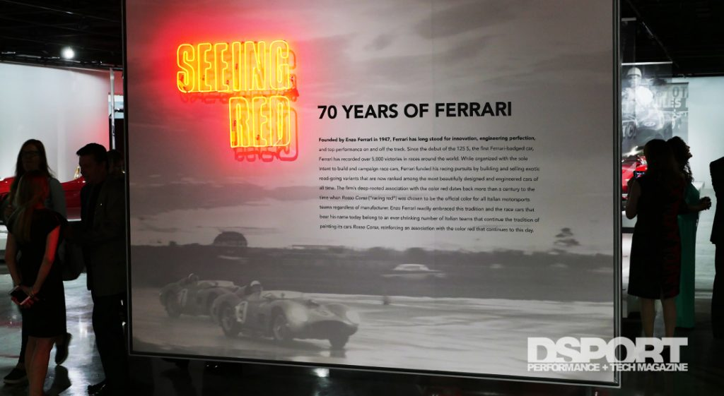 Seeing Red Exhibit at Petersen Automotive Museum