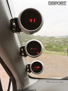 EVO VIII Gauges