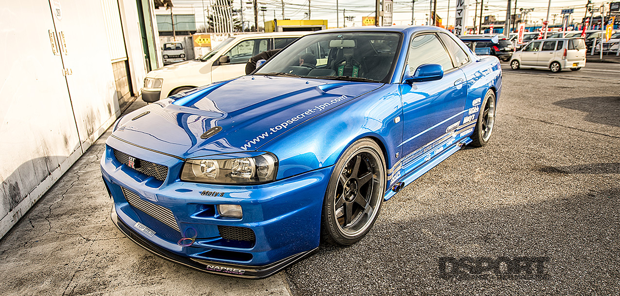 A JDM R34 GT-R with USDM Boost - DSPORT Magazine