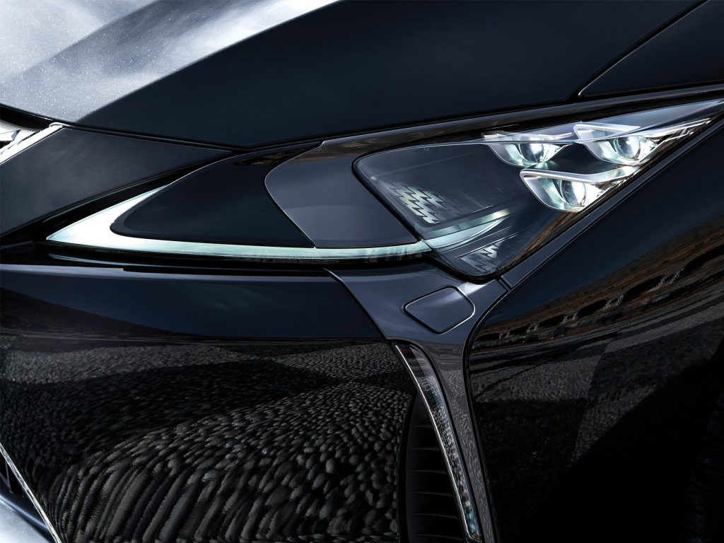 LC500 headlight