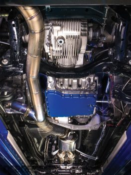 Top Secret R32 Underside