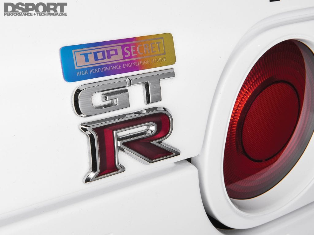 Top Secret R32 Emblem