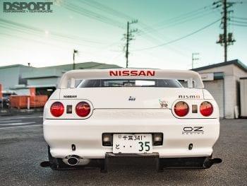 Top Secret R32 Rear