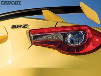 First Drive 2017 BRZ Taillight