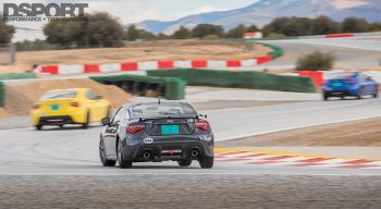 First Drive 2017 BRZ on track