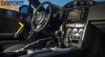 First Drive 2017 BRZ Interior