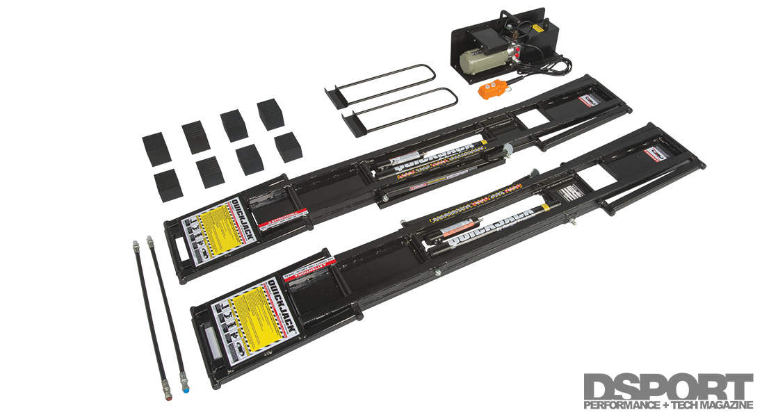 Quick Tech Bendpak S Quick Jack A Portable Hydraulic Lift For