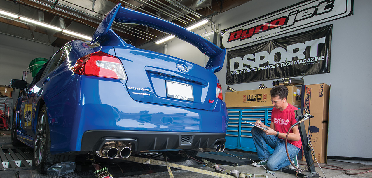 2017 Subaru WRX STI Exhaust Shootout - DSPORT Magazine