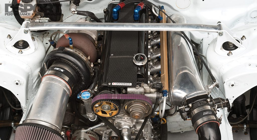 Saito Soarer Engine Bay