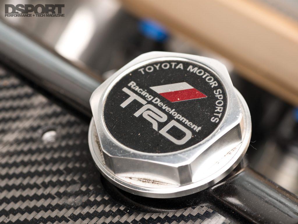 Saito Soarer TRD Oil Cap