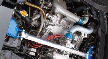 MR2 Engine Bay