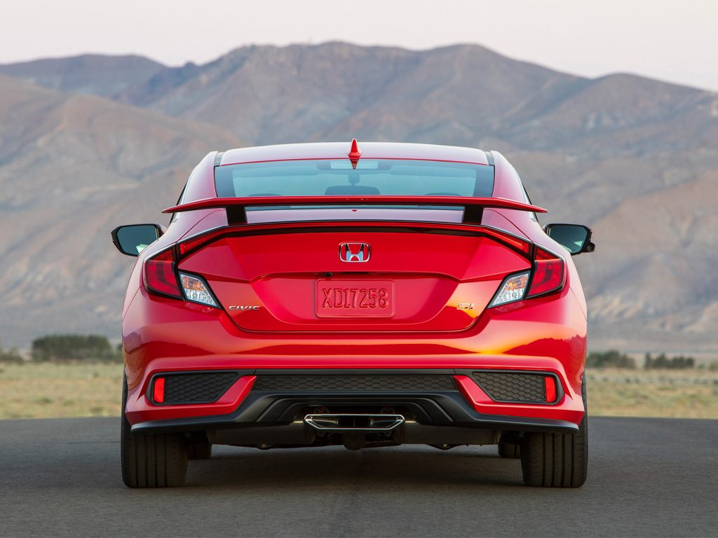 Civic Si rear