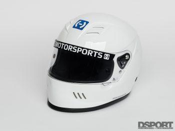 HJC White Helmet