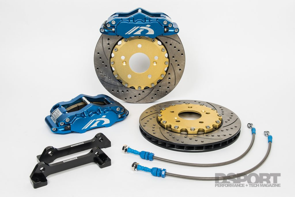 NEO Motorsport S2000 Big Brake Kit components
