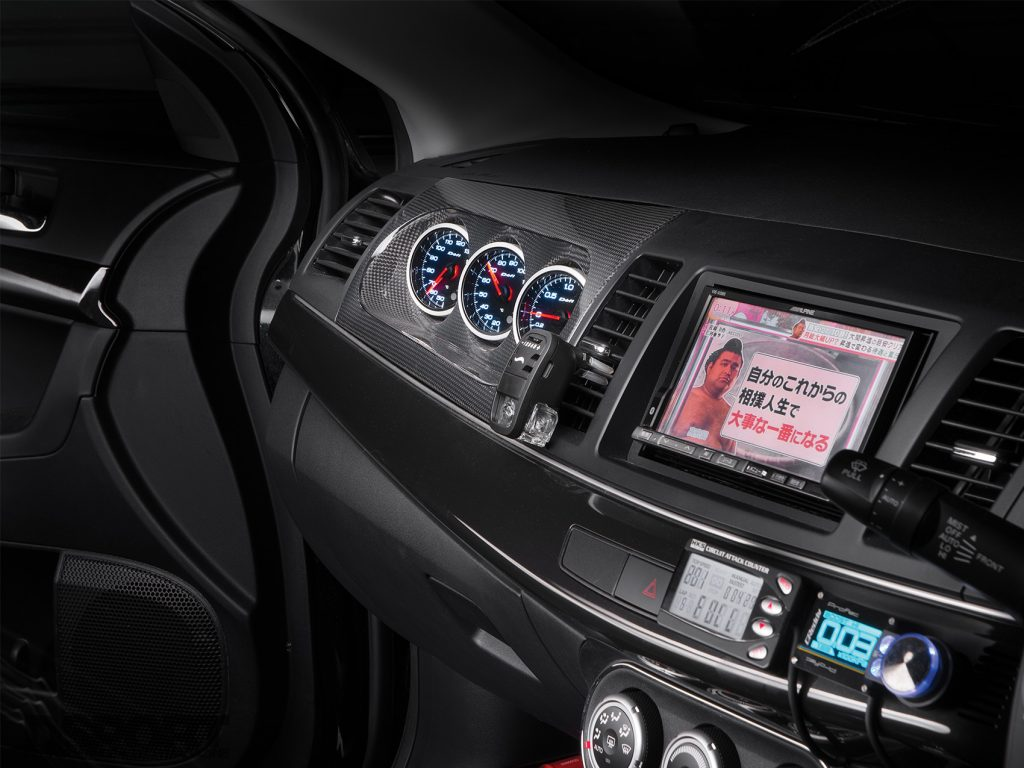 Signal Auto Evo X Interior