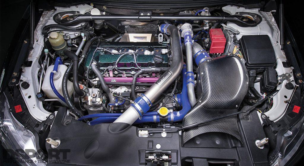 Signal Auto Evo X Engine Bay